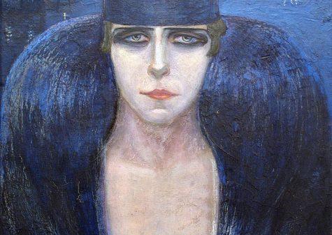 Adriana Bisi Fabbri, Ritratto della Principessa Pignatelli, 1917 olio su tela riportata su cartone, cm 56 x 44,5, dono di Marco Bis