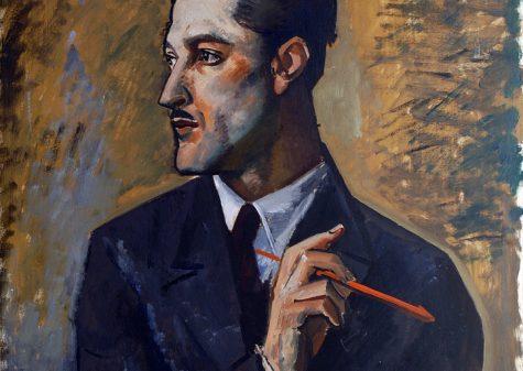 Achille Funi, Ritratto del pittore Mario Tozzi, 1929 olio su tela, cm 62 x 57, dono di Mario Tozzi